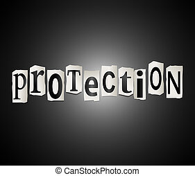 Protection concept.
