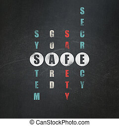Protection concept: word Safe in solving Crossword Puzzle