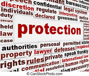 Protection creative message design