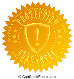 protection, garantie, icône