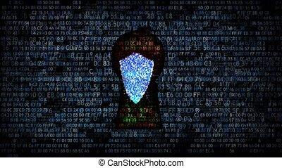 protection, internet, réseau, scammers