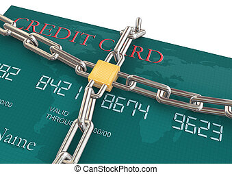 Protection of credit card