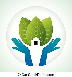 protection of green, save earth