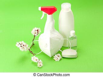 protection, personnel, infections., viral, hygiène, contre
