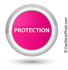 Protection prime pink round button