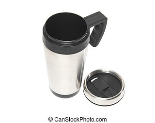 protection-thermos, chaleur, coffee., tasse
