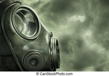 Protection - UK military / Anti terrorism gas mask.