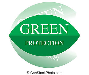 protection, vert