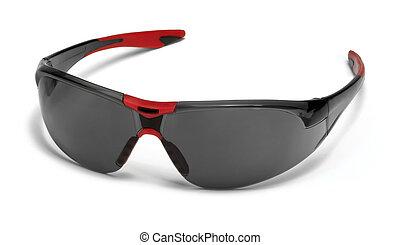 protective glasses - fashionable dark toned protective...