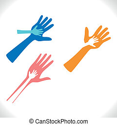 Protective hands
