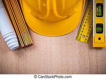 Protective helmet instruments of measurement blueprints and cons