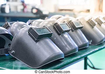 protective mask welding - selective focus point