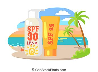 Protective Suntan Cream and Lotion Commercial - Protective...
