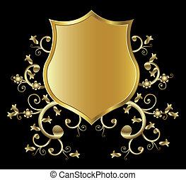 protector, dorado
