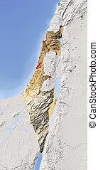 protegidode la luz, map., alivio, israel