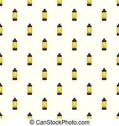 Protein Bottle pattern seamless vector