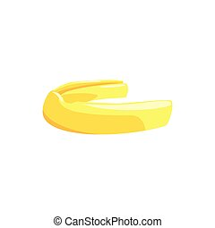 proteja, coloridos, ilustração, vetorial, mouthguard,...
