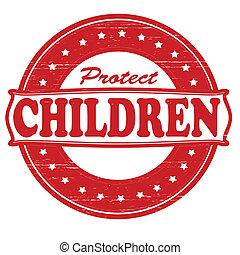 proteja, crianças