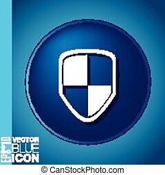 proteja, escudo, ícone