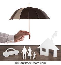 proteja, seu, família