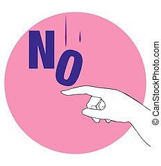 Protest Poster for No