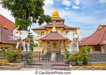 Protestant Cristian church Jemaat Bukit Doa in Nusa Dua,...