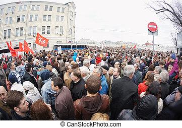 protestation, manifestation