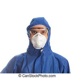protetor, doutor, roupa