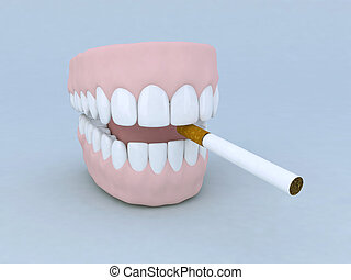proteza, papieros