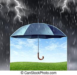 protezione, assicurazione