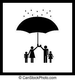 protezione, famiglia
