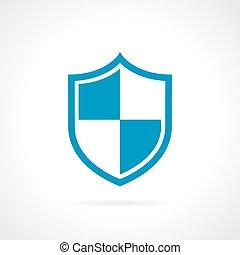 protezione, scudo, icona