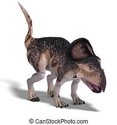 protoceratops, dinosaurio