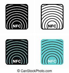protocols, komunikacja, komplet, nfc, near-field