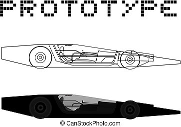 prototyp, auto