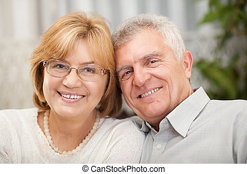 Protrait of senior couple