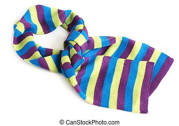 proužkovaný, šátek