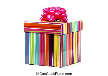 proužkovaný, giftbox