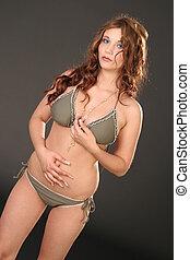 Proud Bikini-Girl