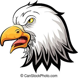 Proud Eagle head
