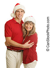 Proud Single Mom at Christmas