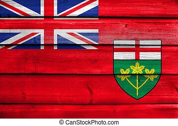 província, bandeira, ontário