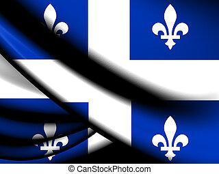 província, bandeira, quebec
