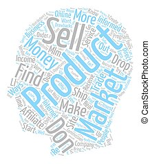 Proven Ways to Earn Money Online text background wordcloud concept