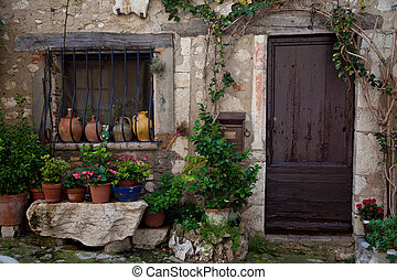 Traditional provencal home in Southern France.