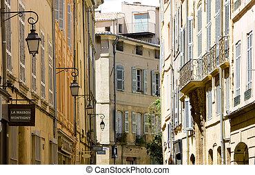 provence, aix-en-provence, francia