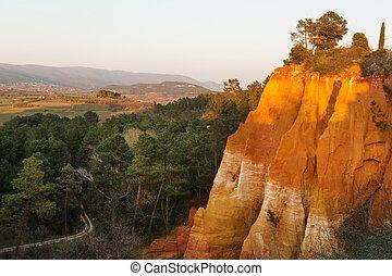 Provence landscape in France