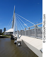Provencher Bridge 2 - Provencher Bridge, in Winnipeg,...
