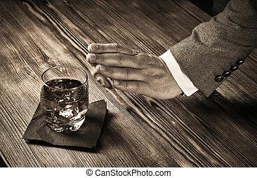 proverbe, homme, alcool, non