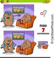 proverbio, haragán del sofá, juego, diferencias